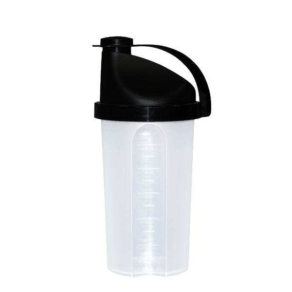 vitaminebooster shaker zwart