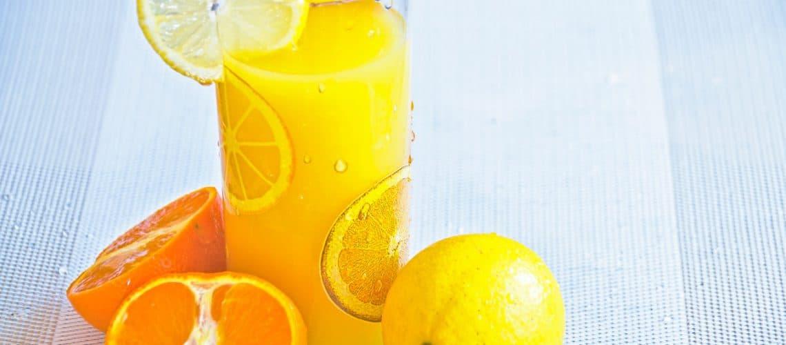 Vitaminebooster Oranje Fruit